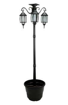 solar lamp post lights china